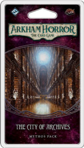 Arkham Horror: The Card Game - City of Archives Mythos Pack
